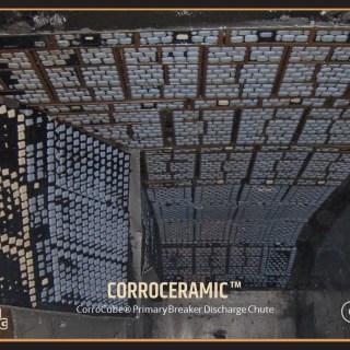 CorroCube Primary Breaker Discharge Chute