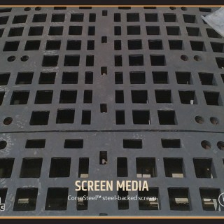 CorroSteel™ steel-backed screen