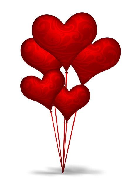 Image result for images of heart shaped balloons