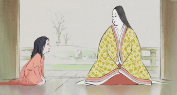 Kaguya is tutored in the art of being a Lady