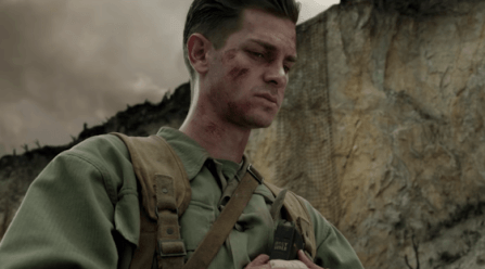 Andrew Garfield as Desmond Doss