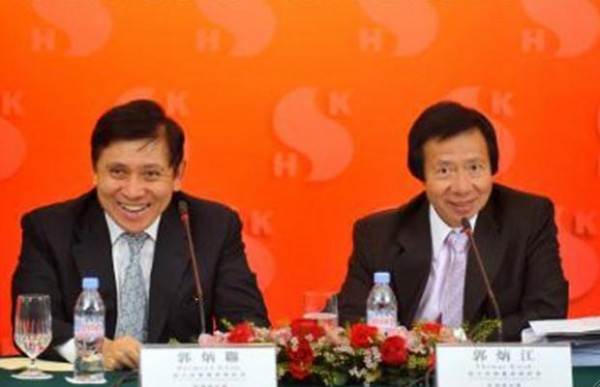 Hong Kong: Sun Hung Kai Properties chairmen arrested