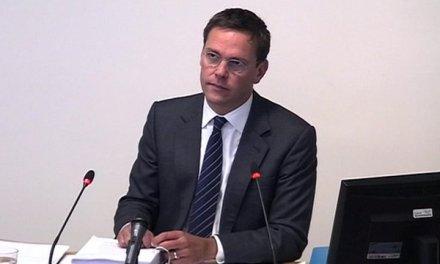 UK:  James Murdoch at Leveson Inquiry