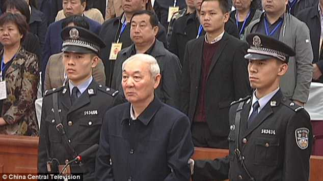 China: Death sentence for bribery