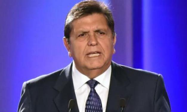 Peru: Former president kills himself ahead of arrest.