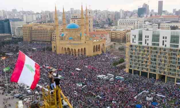 Lebanon: Mass revolt against corruption continues.