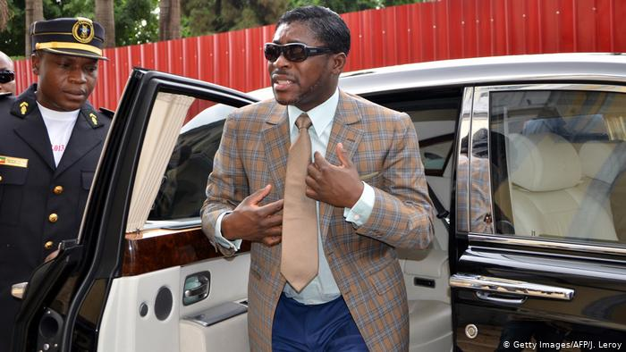 Equatorial Guinea: Vice president fined €30million by France for corruption.