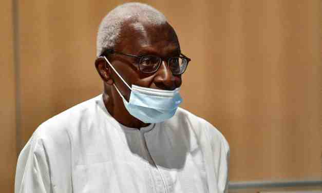France: Former head of athletics' governing body, Lamine Diack sentenced to two years in prison for corruption.