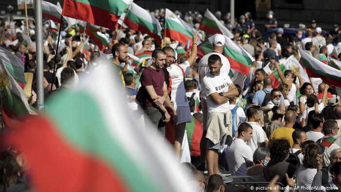 Bulgaria: Protests and corruption crisis.