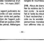 216 – la seule victime de l'abus des biens sociaux est la société d'après la cour de cassation