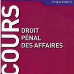 Philippe BONFILS Cours droit pénal des affaire