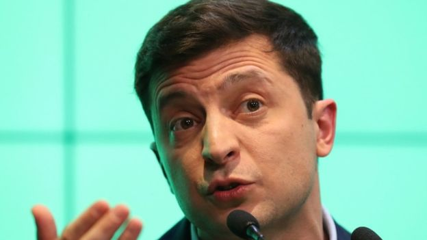 Ukraine: Comedian Zelenskiy wins presidency