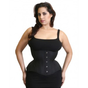 Gemini-Cupped-Black-corset-Timeless-Trends