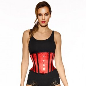 Vollers-waist-hugger-2014-corset-red-satin