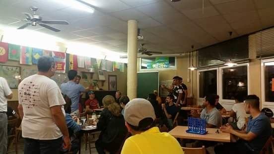 Cafe and games evening