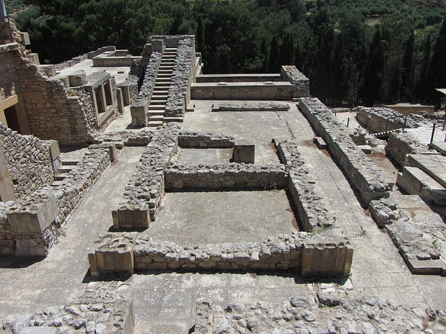 Jerusalem ruined after the Babylonian's take the city (photo is actually Knossos in Crete)