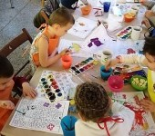 Children's activities at Oasis
