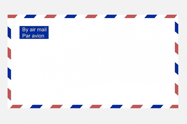 Airmail emvelope
