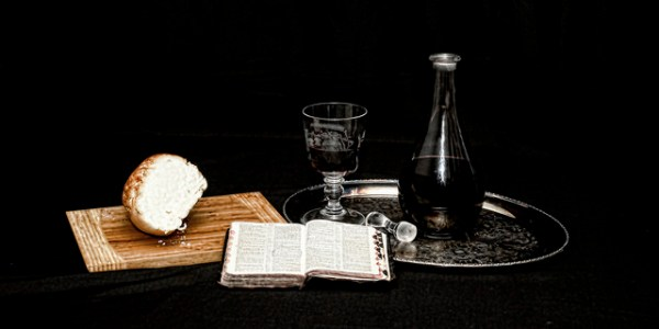 Bread, wine and Bible