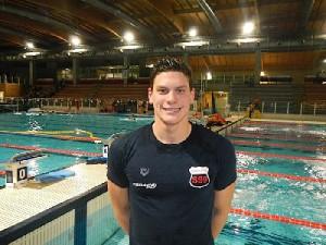 Sabbioni ha vinto nella 'sua' piscina i 50 dorso col 5° crono italiano all-time