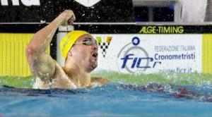 Marco Orsi ha migliorato il suo record italiano nei 100 stile libero in vasca corta