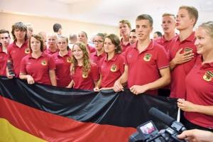La squadra tedesca campione fonte DLRG