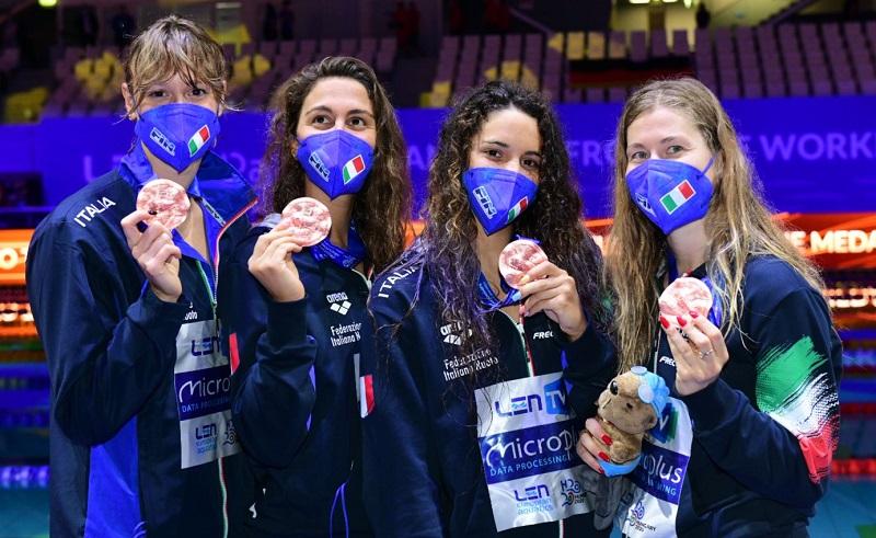 Europei 2021 |  Quadarella al titolo nei 1500. Panziera d'argento nella finale bis