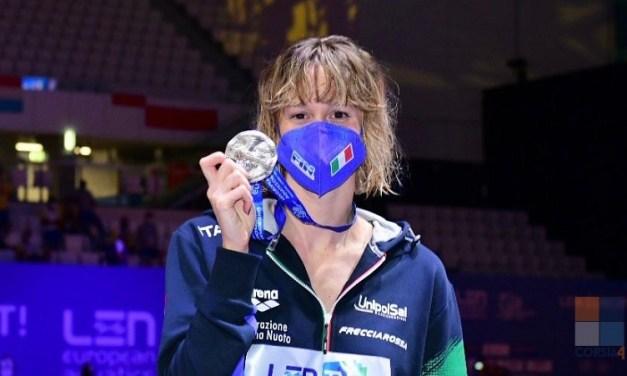 Europei 2021 | Pellegrini a 2 centesimi dal titolo, bronzo Razzetti e 4×100 misti Mixed