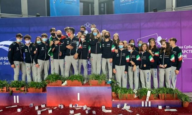 Coppa Comen 2021 | l'Italia vince classifica e medagliere a Belgrado