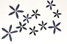 "Xavier Cortada, ""Flores De Cocuyos (detail),"" ceramic, 2013"