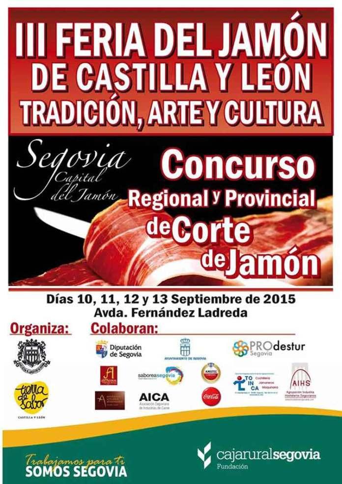 Feria del jamón de Castilla y León
