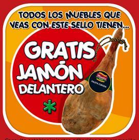 """Tuco regala un """"jamon"""" por comprar en sus tiendas"""