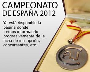 Campeonato de España de Cortadores de Jamón 2012