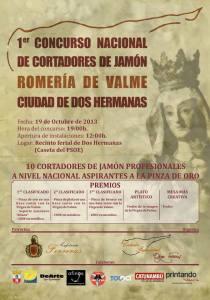 I Concurso Nacional de Cortadores de Jamón de Dos Hermanas
