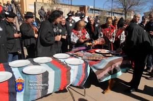 Los cortadores de jamón reivindican su profesión en la matanza de Guijuelo