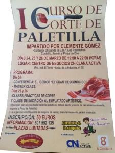 Curso de corte de paleta en Chiclana de la Frontera