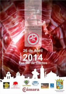 II Concurso Nacional de corte de Jamón en Fuente de Cantos 2014