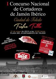 """I Concurso Nacional de Cortadores de jamón Ciudad de Toledo-Greco 2014 """"Trofeo Tello"""""""