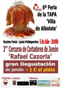 III Concurso de Cortadores de Jamón Rafael Cazorla
