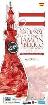 Ganadores del II Concurso Nacional de Cortadores de Jamón Ibérico Cervecería Robles