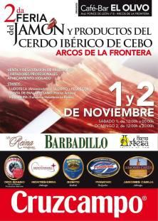 II Feria del jamón y productos del cerdo ibérico de Arcos de la Frontera