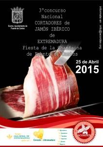III concurso Nacional de cortadores de jamón Ibérico de Extremadura
