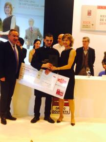 Ganador del XXII Concurso Nacional de Cortadores de Jamón Salón Gourmets