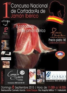 I Concurso Nacional de cortadoras de jamón Ibérico de Valladolid