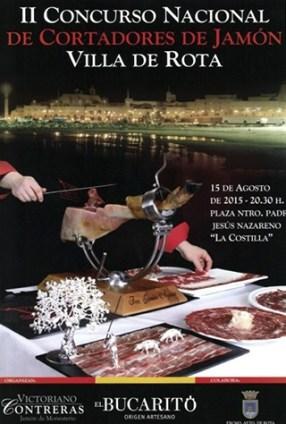 Ganadores II Concurso Nacional de Cortadores de Jamón Villa de Rota