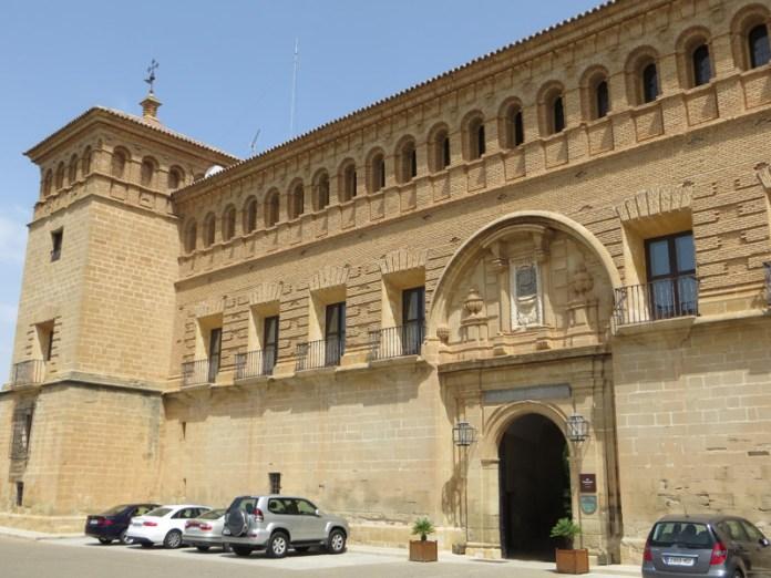Parador de Alcañiz - Comer jamón de Teruel
