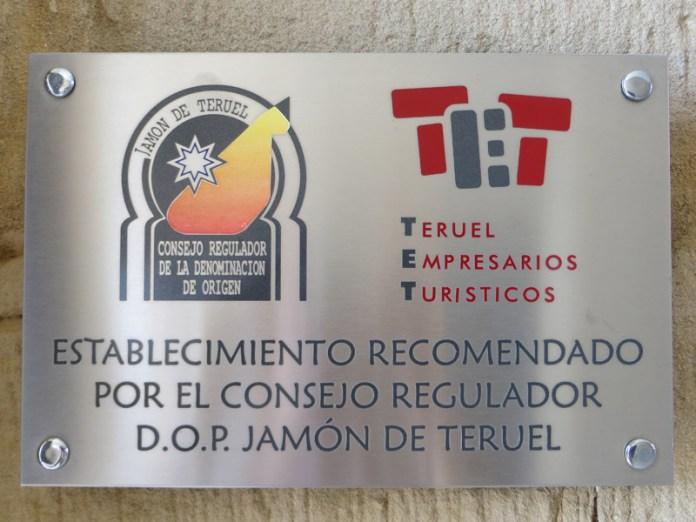 Donde comer jamón de Teruel