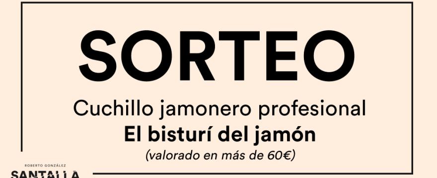 """Sorteo Instagram """"Bisturí del jamón"""""""