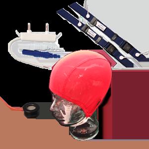 Electrodes, head caps, sensors