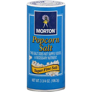Fine Non-Iodized Salt, 3.75 OZ